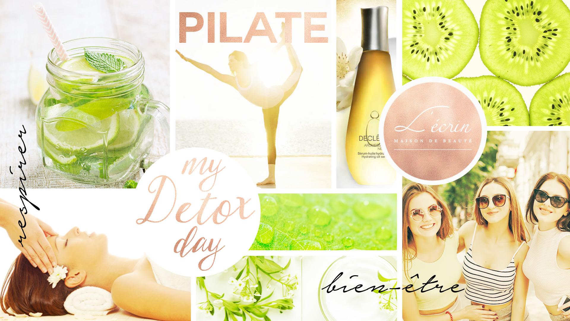 My Detox Day : évènement du 17 Juin 2017 qui allie pilate et soin beauté