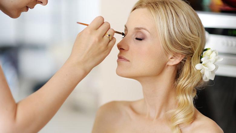 Maquillage pour la plus belle des mariées